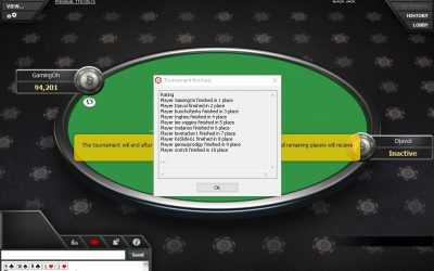 Just Won 1st Place On Betcoin.ag Satellite Freeroll