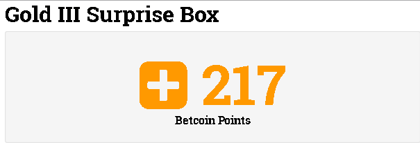 Gold III Surprise Box Betcoin