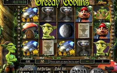 Greedy Goblins Bitcoin Slot At Betcoin.ag