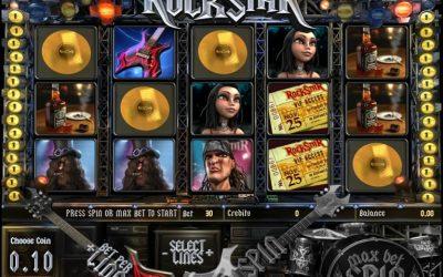Rockstar 3D Betcoin.ag Bitcoin Slot